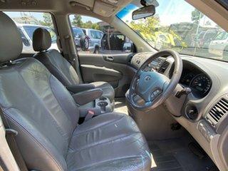 2007 Kia Grand Carnival VQ Premium Black 5 Speed Sports Automatic Wagon