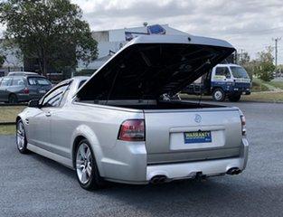 2007 Holden Ute VE SV6 Silver 6 Speed Manual Utility