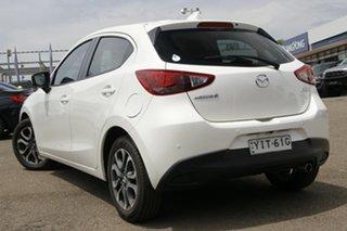 2018 Mazda 2 DJ2HAA Genki SKYACTIV-Drive White 6 Speed Sports Automatic Hatchback.