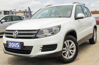 2015 Volkswagen Tiguan 5N MY15 118TSI 2WD White 6 Speed Manual Wagon.