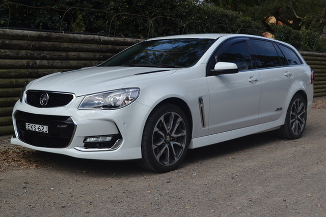 Used Holden Commodore VF II MY16 SS V Sportwagon Maitland, 2016 Holden Commodore VF II MY16 SS V Sportwagon White 6 Speed Sports Automatic Wagon