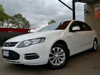 2012 Ford Falcon FG MkII XT EcoLPi White 6 Speed Sports Automatic Sedan