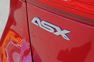 2014 Mitsubishi ASX XB MY15 LS 2WD Red 6 Speed Constant Variable Wagon