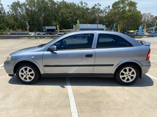 2003 Holden Astra TS SXI Silver 5 Speed Manual Hatchback