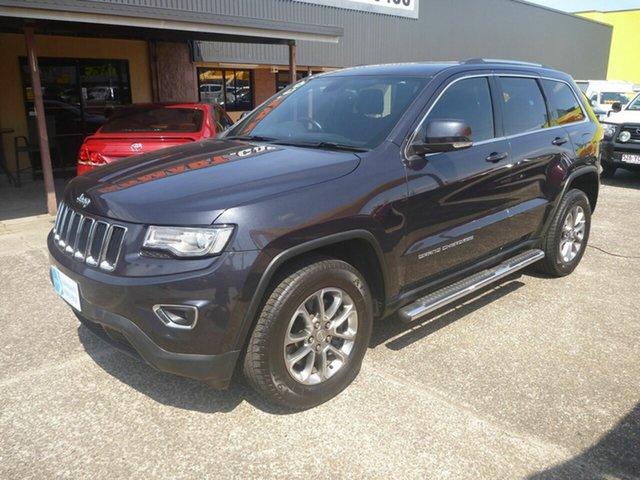 Used Jeep Grand Cherokee WK MY2014 Laredo 4x2 Morayfield, 2013 Jeep Grand Cherokee WK MY2014 Laredo 4x2 Grey 8 Speed Sports Automatic Wagon