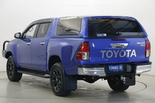 2017 Toyota Hilux GUN126R SR5 Double Cab Blue 6 Speed Sports Automatic Utility