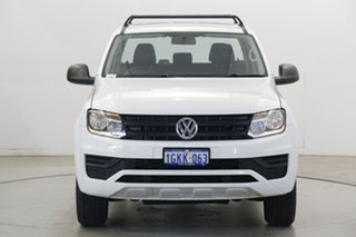 2017 Volkswagen Amarok 2H MY17 TDI400 4MOT Core White 6 Speed Manual Utility.