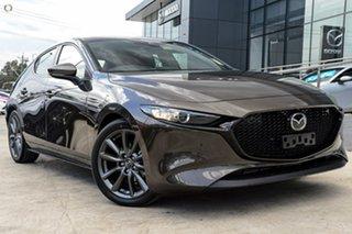 2020 Mazda 3 BP2H7A G20 SKYACTIV-Drive Evolve Bronze 6 Speed Sports Automatic Hatchback.