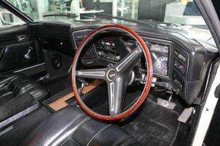1974 Ford Falcon XB GT White 3 Speed Automatic Sedan.