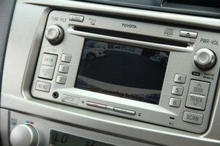 2011 Toyota Aurion GSV40R MY10 Touring White 6 Speed Sports Automatic Sedan