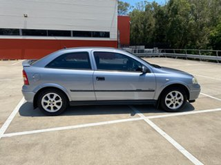 2003 Holden Astra TS SXI Silver 5 Speed Manual Hatchback.