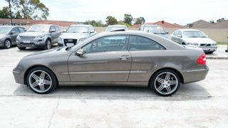 2008 Mercedes-Benz CLK-Class C209 MY08 CLK280 Elegance Gold 7 Speed Automatic Coupe
