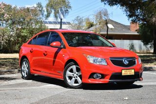 2012 Holden Cruze JH Series II MY12 SRi Red 6 Speed Manual Sedan.