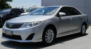 2012 Toyota Camry ASV50R Altise Silver 6 Speed Sports Automatic Sedan.