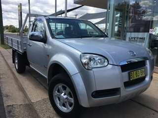 2010 Great Wall V240 K2 (4x2) Silver 5 Speed Manual Cab Chassis.