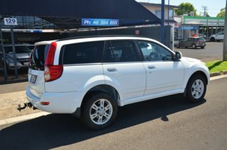 2012 Great Wall X200 CC6461KY MY11 (4x4) White 5 Speed Automatic Wagon.