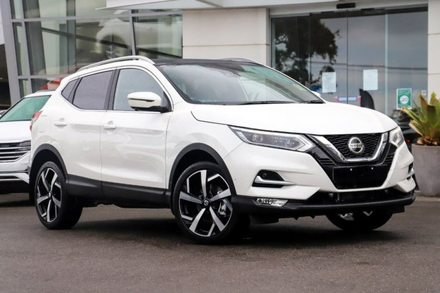 New Nissan Qashqai J11 Series 3 MY20 Ti X-tronic Sutherland, 2020 Nissan Qashqai J11 Series 3 MY20 Ti X-tronic Ivory Pearl 1 Speed Constant Variable Wagon