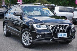2014 Audi Q5 8R MY14 TFSI Tiptronic Quattro Black 8 Speed Sports Automatic Wagon.