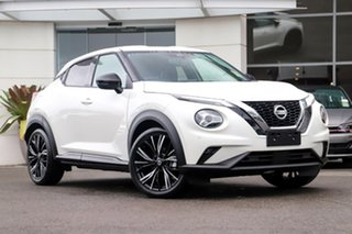 2020 Nissan Juke F16 Ti DCT 2WD Ivory Pearl 7 Speed Sports Automatic Dual Clutch Hatchback.