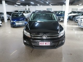 2013 Volkswagen Tiguan 5N MY13.5 155TSI DSG 4MOTION Black 7 Speed Sports Automatic Dual Clutch Wagon.