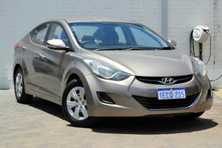 2013 Hyundai Elantra MD2 Active Brown 6 Speed Sports Automatic Sedan.
