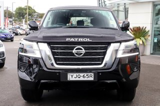 2020 Nissan Patrol Y62 Series 5 MY20 TI (4x4) Black Obsidian 7 Speed Automatic Wagon.