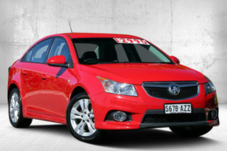 2014 Holden Cruze JH Series II MY14 SRi Red Hot 6 Speed Sports Automatic Sedan.