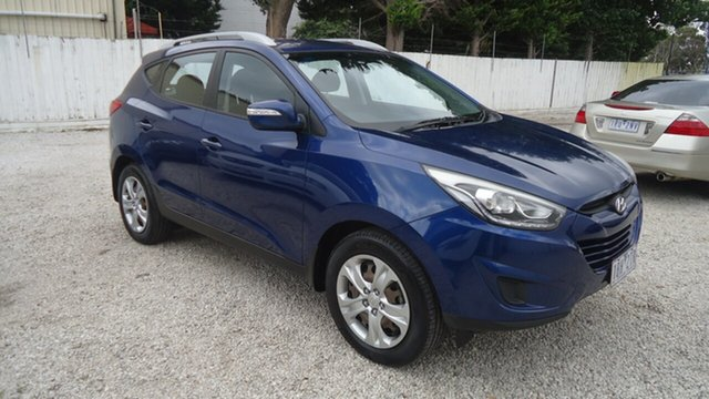 Used Hyundai ix35 LM3 MY14 Active Seaford, 2013 Hyundai ix35 LM3 MY14 Active Blue 6 Speed Sports Automatic Wagon