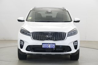 2020 Kia Sorento UM MY20 GT-Line AWD Snow White Pearl 8 Speed Sports Automatic Wagon.