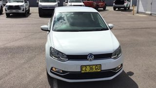 2015 Volkswagen Polo 6R MY16 81TSI DSG Comfortline White 7 Speed Sports Automatic Dual Clutch.