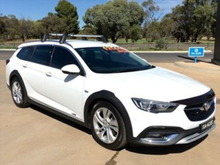 2017 Holden Calais ZB MY18 Tourer AWD Summit White 9 Speed Sports Automatic Wagon.