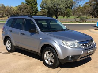 2012 Subaru Forester S3 MY12 X AWD Luxury Edition Silver 4 Speed Sports Automatic Wagon