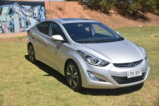 2014 Hyundai Elantra MD3 Premium Silver 6 Speed Sports Automatic Sedan.