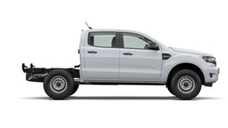 2021 Ford Ranger PX MkIII 2021.25MY XL White 6 Speed Sports Automatic Double Cab Chassis