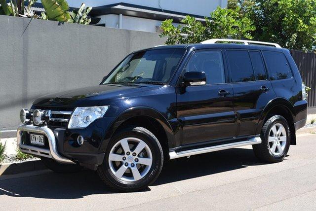Used Mitsubishi Pajero NS Exceed Brighton, 2007 Mitsubishi Pajero NS Exceed Black 5 Speed Sports Automatic Wagon