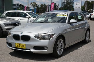 2014 BMW 1 Series F20 MY0713 118d Steptronic Silver 8 Speed Sports Automatic Hatchback
