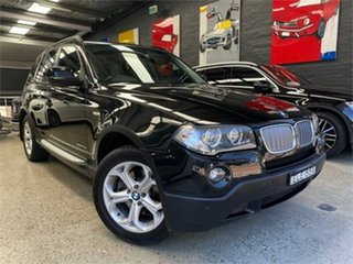 2009 BMW X3 E83 xDrive30d Lifestyle Black Automatic Wagon.