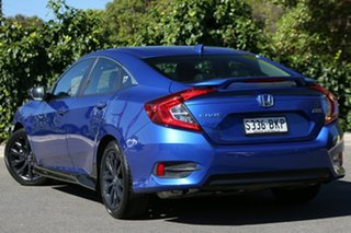 2016 Honda Civic 10th Gen MY16 VTi-LX Brilliant Sporty Blue 1 Speed Constant Variable Sedan.