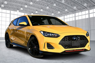 2020 Hyundai Veloster JS MY20 Turbo Coupe D-CT Thunder Bolt 7 Speed Sports Automatic Dual Clutch.