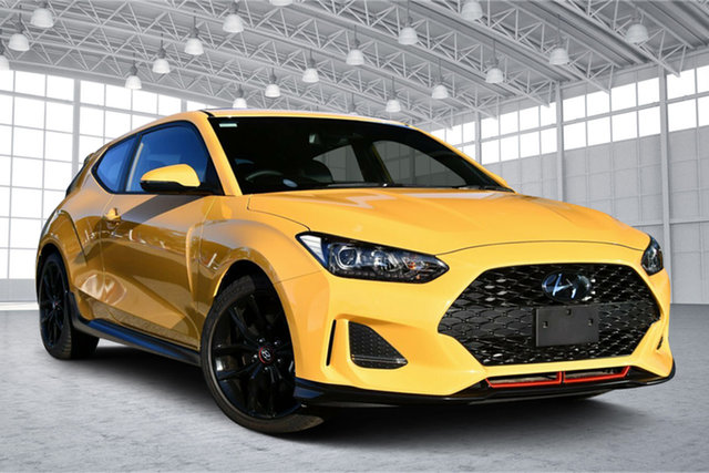 Used Hyundai Veloster JS MY20 Turbo Coupe D-CT Victoria Park, 2020 Hyundai Veloster JS MY20 Turbo Coupe D-CT Thunder Bolt 7 Speed Sports Automatic Dual Clutch