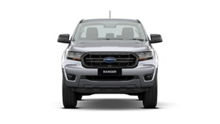 2020 Ford Ranger PX MkIII 2021.25MY XL Hi-Rider Silver 6 Speed Sports Automatic Cab Chassis.