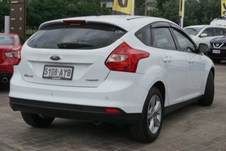 2013 Ford Focus LW MkII Trend White 5 Speed Manual Hatchback