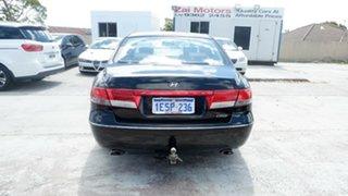 2009 Hyundai Grandeur TG MY09 Black 5 Speed Sports Automatic Sedan