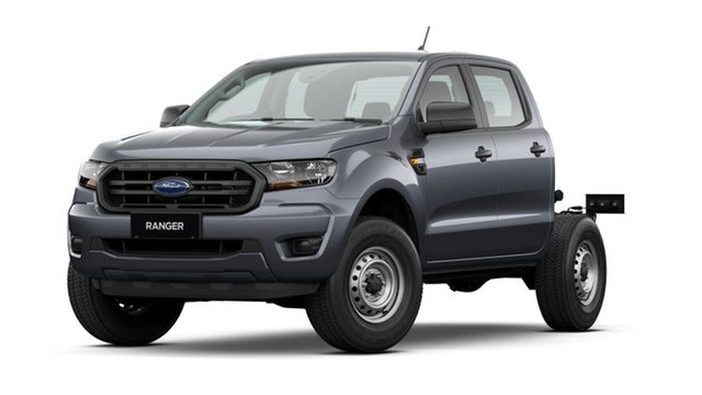New Ford Ranger PX MkIII 2021.25MY XL Deer Park, 2021 Ford Ranger PX MkIII 2021.25MY XL Meteor Grey 6 Speed Sports Automatic Double Cab Chassis