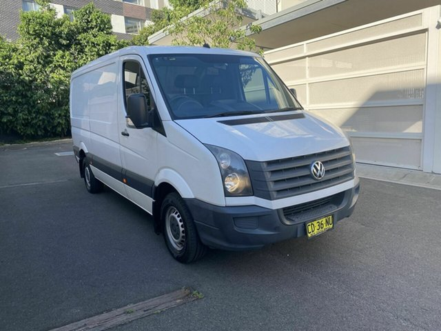 Used Volkswagen Crafter 2ED1 MY12 35 MWB TDI300 Zetland, 2011 Volkswagen Crafter 2ED1 MY12 35 MWB TDI300 White 6 Speed Manual Van