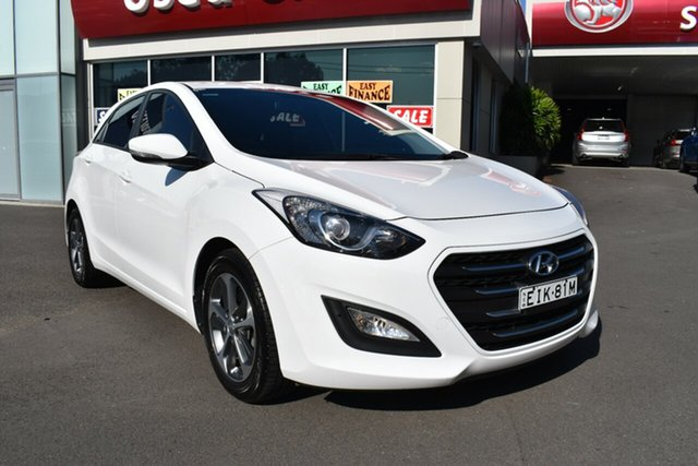 Used Hyundai i30 GD4 Series II MY17 Active X DCT Gosford, 2016 Hyundai i30 GD4 Series II MY17 Active X DCT White 7 Speed Sports Automatic Dual Clutch