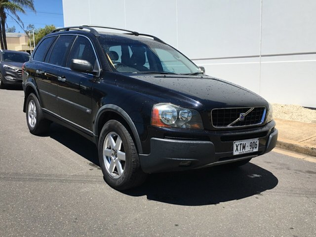 Used Volvo XC90 P28 MY04 T Blair Athol, 2004 Volvo XC90 P28 MY04 T Black 5 Speed Sports Automatic Wagon