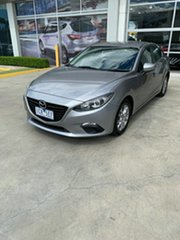 2014 Mazda 3 BM5278 Maxx SKYACTIV-Drive Silver 6 Speed Sports Automatic Sedan.