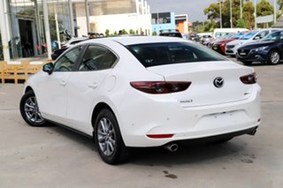 2019 Mazda 3 BP2S7A G20 SKYACTIV-Drive Pure Snowflake White 6 Speed Sports Automatic Sedan.