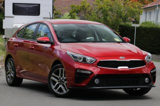 2020 Kia Cerato BD MY21 Sport Runway Red 6 Speed Sports Automatic Hatchback.